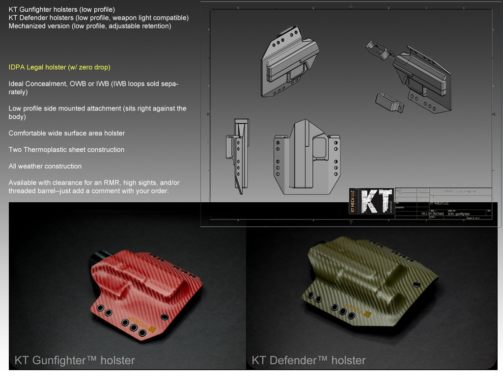 Kt custom all weather holsters practical tactical quick details info sciox Choice Image