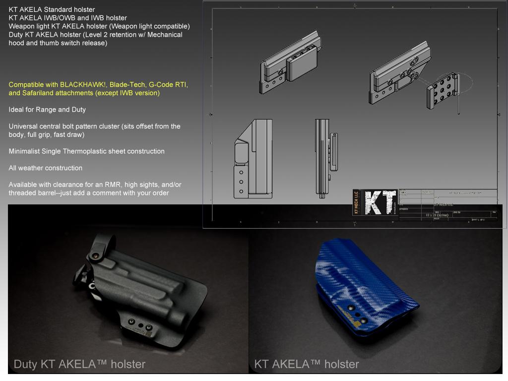 KT MECH LLC - akela handgun list